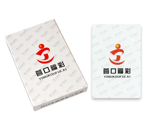 福利彩票广告扑克